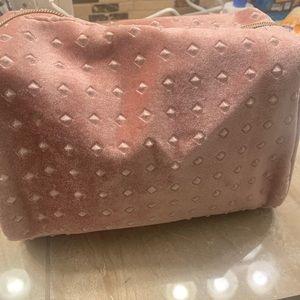 Beautiful Cosmetic bag peachy pink